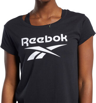 Reebok Graphic t-skjorte dame Svart