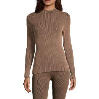 Wool Rib Long Sleeve genser dame