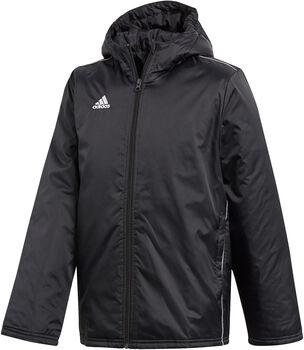 adidas Core 18 Stadium vattert jakke junior Svart