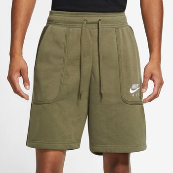 Nike Air French Terry shorts herre Grønn