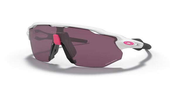Radar EV Advancer Prizm Road Black Polished White sportsbrille