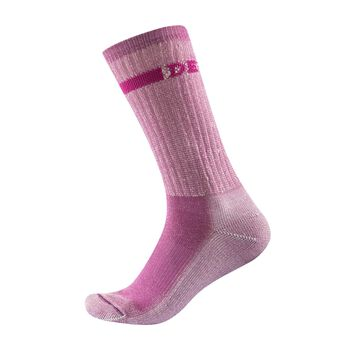 Devold Outdoor Medium ullsokk dame Rosa