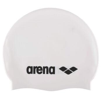 Arena Classic Silicone badehette junior Hvit