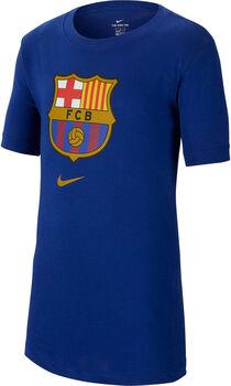Nike FC Barcelona t-skjorte barn Blå