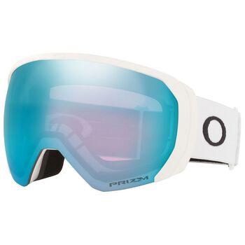 Oakley Flight Path XL Matte White, Prizm Snow Sapphire alpinbriller Herre Grå