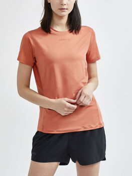 Craft Adv Essence Ss Tee teknisk t-skjorte dame Rød