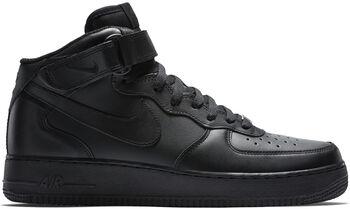 Nike Air Force 1 '07 Mid fritidssko Herre Svart