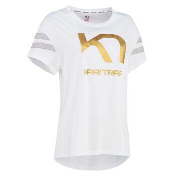 KARI TRAA Vilde t-skjorte dame Hvit