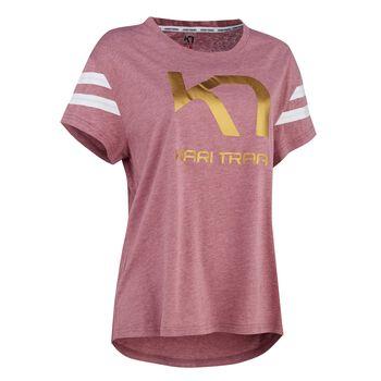 KARI TRAA Vilde t-skjorte dame Rosa