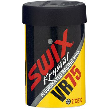 Swix VR75 fluor gul voks +2C / +5 °C Rød
