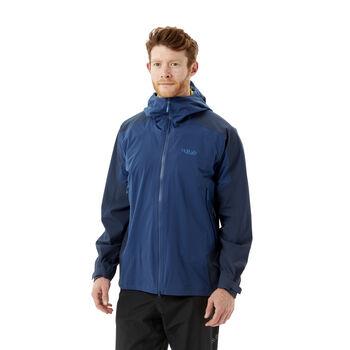 Rab Kinetic Alpine 2.0 skalljakke herre Blå