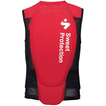Sweet Protection Back Protector Vest ryggplate junior Rød