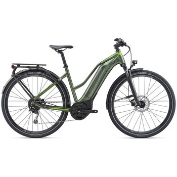 Giant Explore E+ 3 STA el-sykkel dame Svart