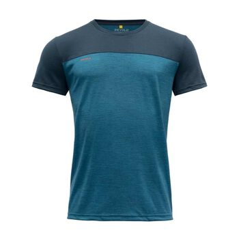 Devold Norang ull-t-skjorte herre Blå
