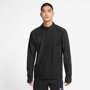 Nike Pinnacle Run Division midlayer genser herre Svart