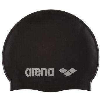 Arena Classic Silicone badehette senior Herre Svart