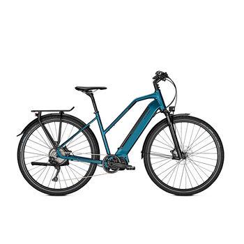 Raleigh Preston 11 el-sykkel dame Blå