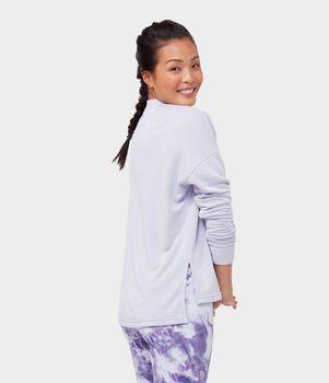 Manduka Rise and Shine Sweatshirt genser dame Lilla