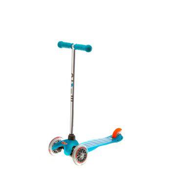 Mini Micro Aqua sparkesykkel barn Blå