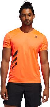 ADIDAS Run It 3-Stripes teknisk t-skjorte herre