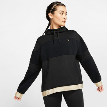 Nike Blusao Icon Clash hettegenser dame Svart