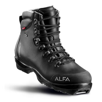 Alfa Skarvet Advance GTX fjellskisko dame Svart