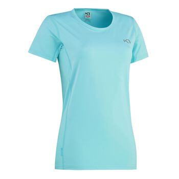 KARI TRAA Nora Tee teknisk t-skjorte dame Blå