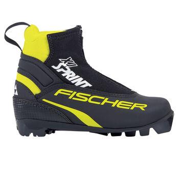 Fischer Sprint skisko klassisk barn/junior Svart