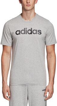 adidas Essentials Linear Logo t-skjorte herre Grå