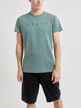 Craft Deft 2.0 SS Tee M t-skjorte herre Grønn