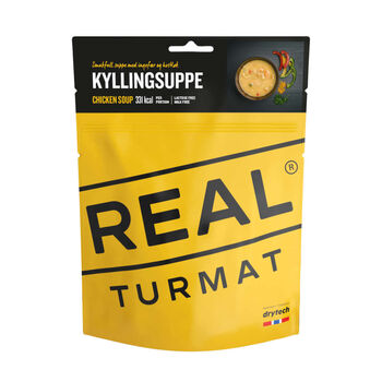 REAL turmat Kyllingsuppe Gul