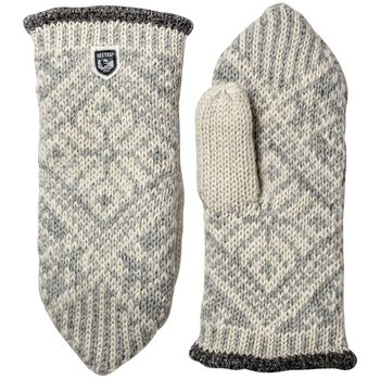 Hestra Nordic Wool vott dame Herre Grå