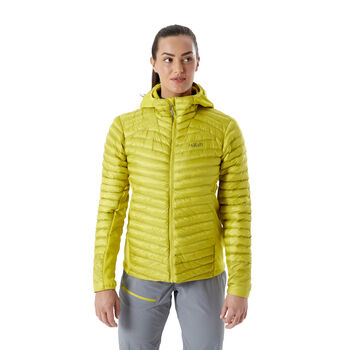Rab Cirrus Flex 2.0 isolert jakke dame Gul
