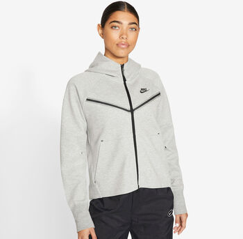 Nike Tech Fleece Windrunner hettejakke dame Grå
