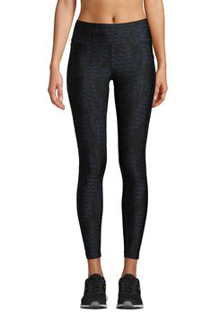 Casall Iconic Printed 7/8 tights dame Blå