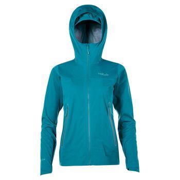 Rab Kinetic Plus allværsjakke dame Blå