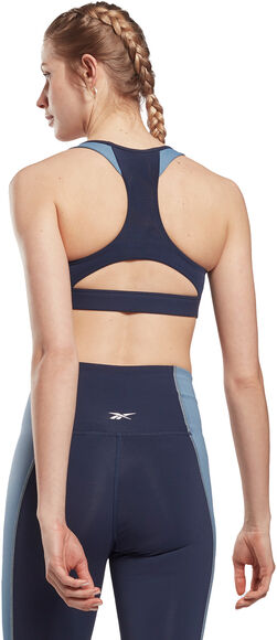 Lux Racer Padded Colorblock sports-BH dame