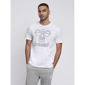 Hummel Peter T-shirt S/S t-skjorte herre Hvit
