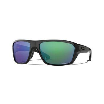 Oakley Split Shot Prizm™ Shallow Water Polarized - Polished Black solbriller Herre Grønn
