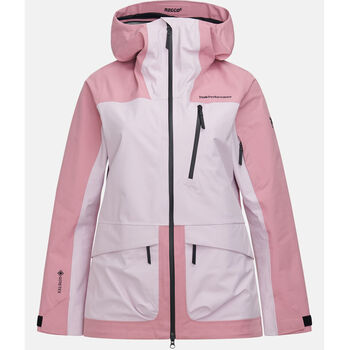 Peak Performance Vertical 3L skijakke dame Rosa