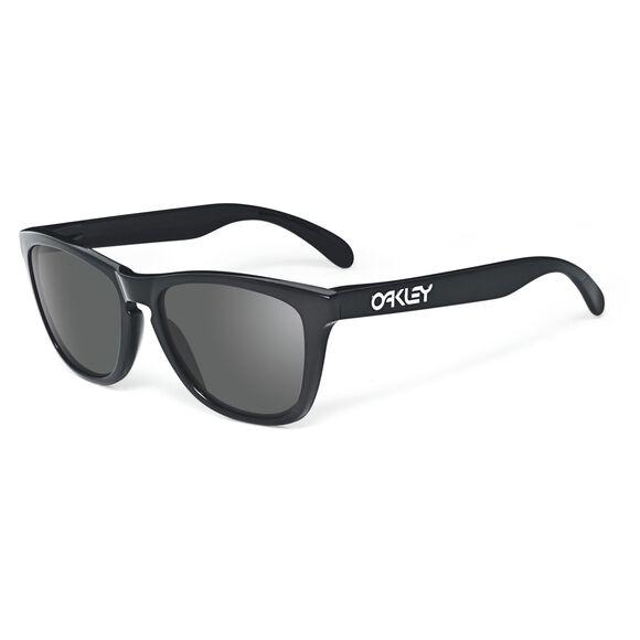 Frogskins Grey - Polished Black solbriller