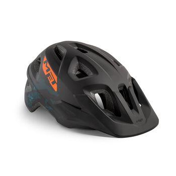 MET Eldar sykkelhjelm junior Svart