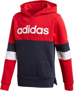 adidas Linear Colorblock hettegenser junior Flerfarvet