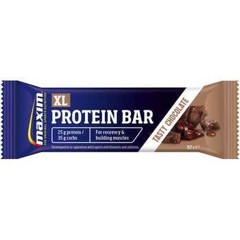 MAXIM Xl Protein Bar 82G Chocolate proteinbar Svart