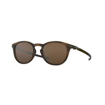 Oakley Pitchman Prizm™ Tungsten Polarized - Polished Brown Tortoise solbriller Brun