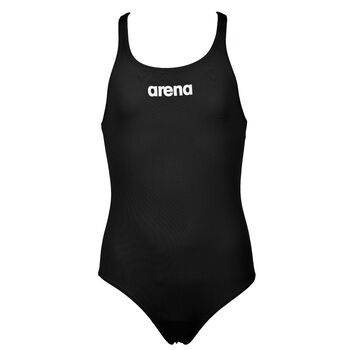 Arena Solid Swim Pro badedrakt barn/junior Svart