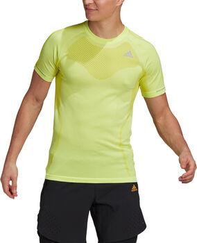 adidas Primeknit teknisk t-skjorte herre Gul