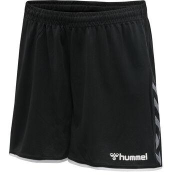 Hummel hmlAuthentic Poly shorts dame Svart