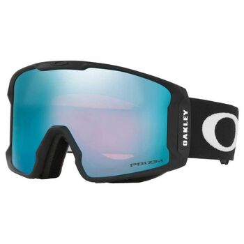 Oakley Line Miner XL Factory Pilot Black, Prizm Snow Sapphire alpinbriller Herre Grå