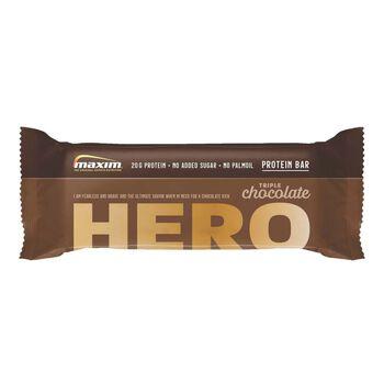 MAXIM Hero Chocolate Proteinbar 57g Brun
